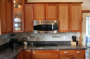 pre-built kitchen cabinets